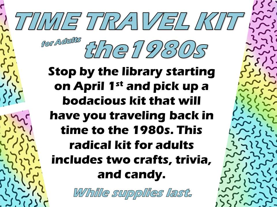 adult Time Travel Kit 1980s
