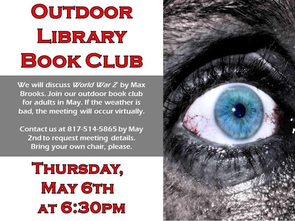 adult Book Club May 2021