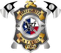 Watauga Fire Dept - Badge AR FIREFIGHTER